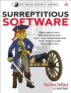Book cover from surreptitious software